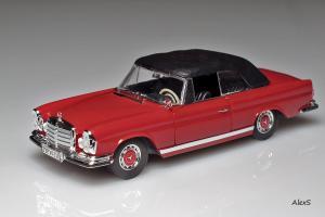 Прикрепленное изображение: Mercedes-Benz W111 Cabrio 280 SE 3,5 Closed Faller 4332.jpg