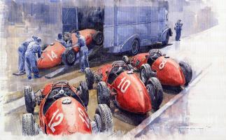 Прикрепленное изображение: team-ferrari-500-f2-1952-french-gp-yuriy-shevchuk.jpg