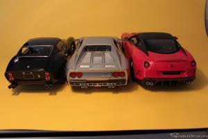 Прикрепленное изображение: все три GTO, произведенные Феррари за всю историю марки - 250, 288 & 599.JPG