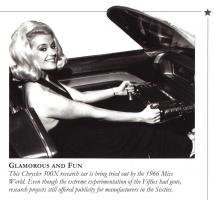 Прикрепленное изображение: Miss World 1966 & Chrysler 300X.jpg