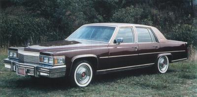Прикрепленное изображение: `79 Cadillac Fleetwood Brougham Front View.jpg