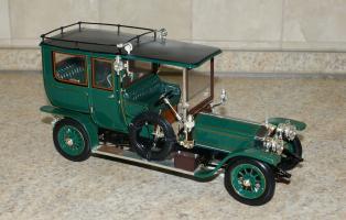 Прикрепленное изображение: Rolls Royce Silver Ghost 1908 Franklin Mint  (1).JPG