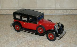 Прикрепленное изображение: Mercedes Benz 770K 1935 Hirohito Franklin Mint (1).JPG