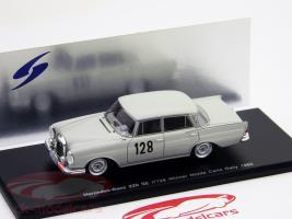 Прикрепленное изображение: S1004 Mercedes 220 SE #128 Schock, Moll Winner RallyeS1004 Monte Carlo 1960.jpg
