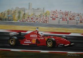 Прикрепленное изображение: Michael Schumacher - GP Nürburging 1996, Ferrari F310.jpg