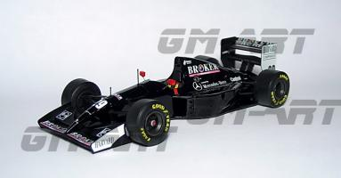 Прикрепленное изображение: SAUBER C13 Mercedes K. Wendlinger San Marino GP 1994 5А.jpg