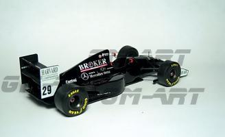 Прикрепленное изображение: SAUBER C13 Mercedes K. Wendlinger San Marino GP 1994 14А.jpg