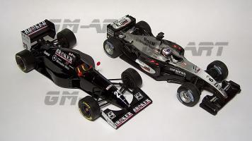 Прикрепленное изображение: SAUBER C13 Mercedes K. Wendlinger San Marino GP 1994 20А.jpg