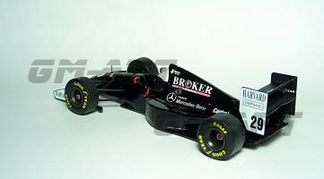 Прикрепленное изображение: SAUBER C13 Mercedes K. Wendlinger San Marino GP 1994 7А.jpg