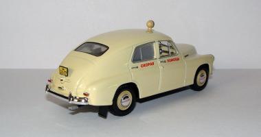 Прикрепленное изображение: 1950 GAZ-M20 Pobeda Ambulance (IST for DeAgostini AL#2, Conversion) 2.JPG