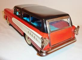 Прикрепленное изображение: NOMURA - TN Japanese Tin Litho Friction 1958 EDSEL 2-Dr STATION WAGON1.JPG