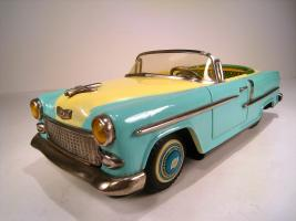 Прикрепленное изображение: ICHIKO KANTO Tin Friction 1955 Chevrolet Convertible.jpg