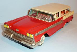 Прикрепленное изображение: YACHIO Japanese Tin Litho Friction 1959 FORD FAIRLANE 2-Dr STATION WAGON1.JPG