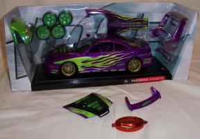 Прикрепленное изображение: Acura Integra Purple Hot Wheels Tunerz (2).JPG