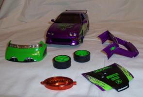 Прикрепленное изображение: Acura Integra Purple Hot Wheels Tunerz (13).JPG