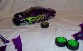 Прикрепленное изображение: Acura Integra Purple Hot Wheels Tunerz (16).JPG
