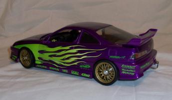 Прикрепленное изображение: Acura Integra Purple Hot Wheels Tunerz (11).JPG