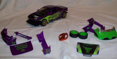 Прикрепленное изображение: Acura Integra Purple Hot Wheels Tunerz (14).JPG