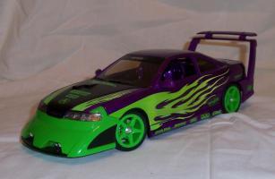 Прикрепленное изображение: Acura Integra Purple Hot Wheels Tunerz (18).JPG