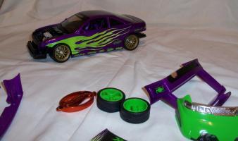Прикрепленное изображение: Acura Integra Purple Hot Wheels Tunerz (15).JPG