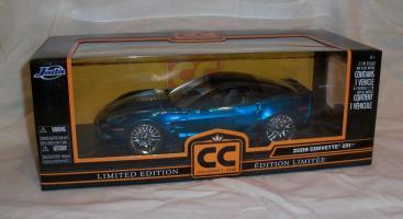 Прикрепленное изображение: Jada Chevrolet Corvette ZR1 2009 Blue.JPG