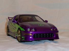 Прикрепленное изображение: Acura Integra Purple Hot Wheels Tunerz (4).JPG