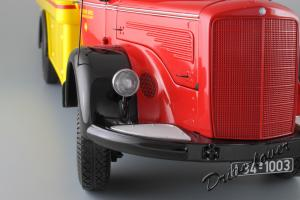 Прикрепленное изображение: Mercedes-Benz L 6600 Tankwagen Shell Minichamps 109031071_13.JPG