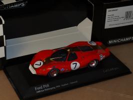 Прикрепленное изображение: 1968 400688407 MINICHAMPS Ford P68 Nurburgring 1968.jpg