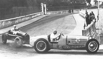 Прикрепленное изображение: 1934 monaco bugatti 59 vs alfa p3.jpg