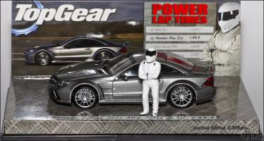 Прикрепленное изображение: 2009 Mercedes-Benz SL65 AMG Black Series (R230) TopGear - Minichamps - 519433820 - 5_small.jpg
