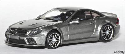 Прикрепленное изображение: 2009 Mercedes-Benz SL65 AMG Black Series (R230) TopGear - Minichamps - 519433820 - 1_small.jpg