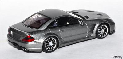 Прикрепленное изображение: 2009 Mercedes-Benz SL65 AMG Black Series (R230) TopGear - Minichamps - 519433820 - 2_small.jpg
