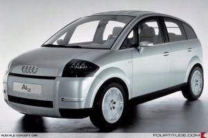 Прикрепленное изображение: Audi Studie AL2 IAA 1997...jpg