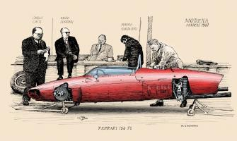 Прикрепленное изображение: Ferrari-156-F1-1961-to-colour.jpeg
