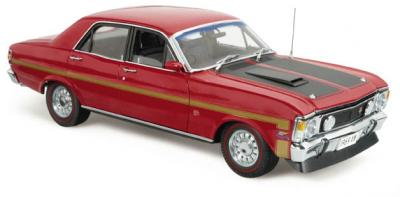 Прикрепленное изображение: Ford Falcon XW Phase I Falcon GT-HO Candy Apple Red Classic Carlectables.jpg