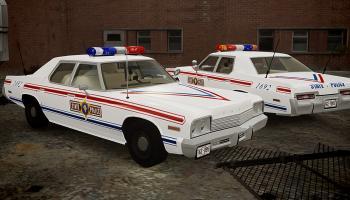 Прикрепленное изображение: 1974 Dodge Monaco - Illinois State Police stripes 1.jpg