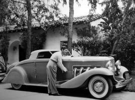 Прикрепленное изображение: Clark Gable Duesenberg SJ.jpg
