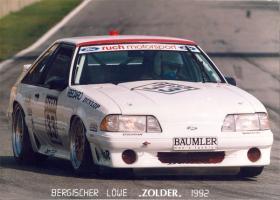 Прикрепленное изображение: 1992 Ford Mustang DTM Gerd Rush Zolder.jpg
