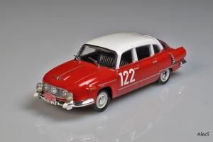 Прикрепленное изображение: Tatra 603-1 1960 Rally Monte-Carlo #122 Foxtoys FOX025 1.jpg