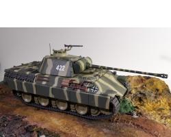 Прикрепленное изображение: Танк Пантера Sd.Kfz.171 - PZ. kpfw. V Panther A 1944 3.jpg