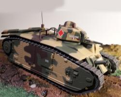 Прикрепленное изображение: Танк Б1 (B1 BIS) 1940 1.jpg