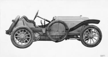 Прикрепленное изображение: Mercedes 120 PS Grand-Prix-Rennwagen, 1907.jpg