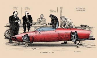 Прикрепленное изображение: Ferrari-156-F1-1961-to-colour.jpg