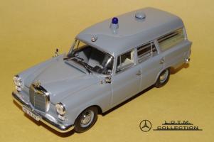 Прикрепленное изображение: 59. 1961 W110 190 KTW Deutsches Rotes Kreuz (Minichamps) (1).JPG
