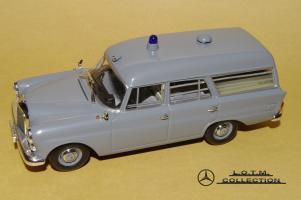 Прикрепленное изображение: 59. 1961 W110 190 KTW Deutsches Rotes Kreuz (Minichamps) (2).JPG