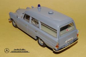 Прикрепленное изображение: 59. 1961 W110 190 KTW Deutsches Rotes Kreuz (Minichamps) (3).JPG