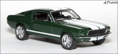 Прикрепленное изображение: 1967 Ford Mustang RB26DETT The Fast and the Furious Tokyo Drift - GREENLIGHT - GL86211 - 4_small.jpg