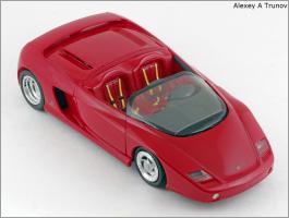 Прикрепленное изображение: 1989 Ferrari Mythos Pininfarina - Revell - 8502 - 4_small.jpg