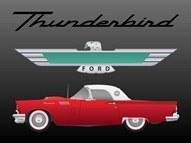 Прикрепленное изображение: FreeVector-Ford-Thunderbird-Vector (1).jpg