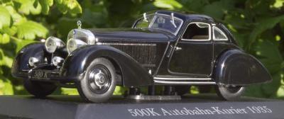 Прикрепленное изображение: 1935 Mercedes Benz 500K Autobahn-Kurier - Altaya, Museum Series - 3.jpg